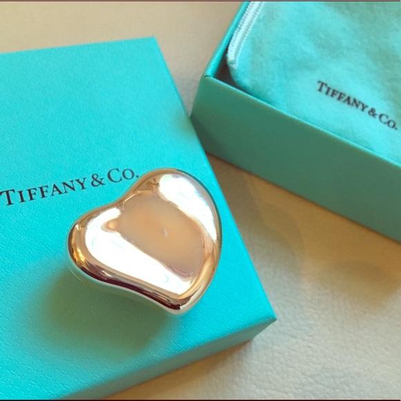d38e5fdeb4 Tiffany & Co. Jewelry | Tiffanys Elsa Peretti Heart Box Silver Small ...